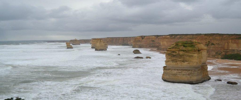 12 apostoli con vento, pioggia e grandine