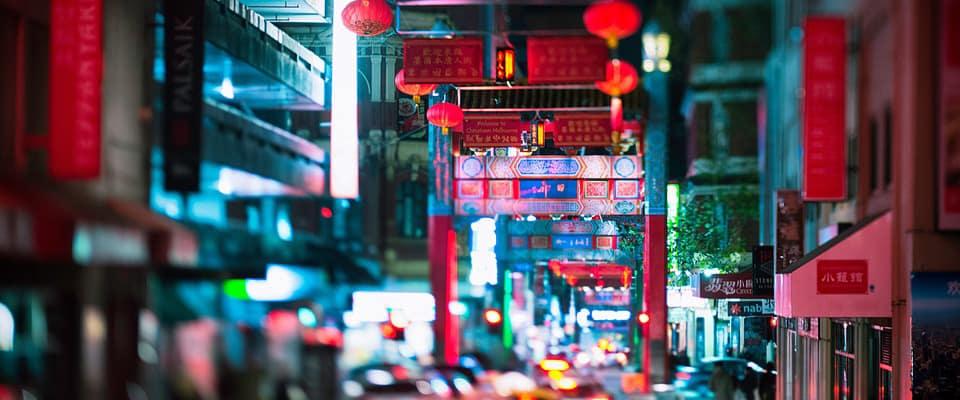 Chinatown a Melbourne è colorata e piena di ottimi ristoranti