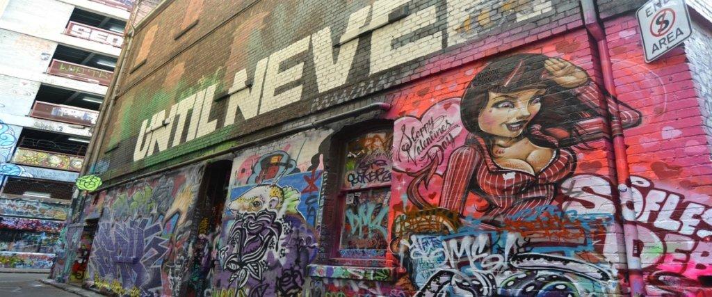 Street Art tra i vicoli di Melbourne