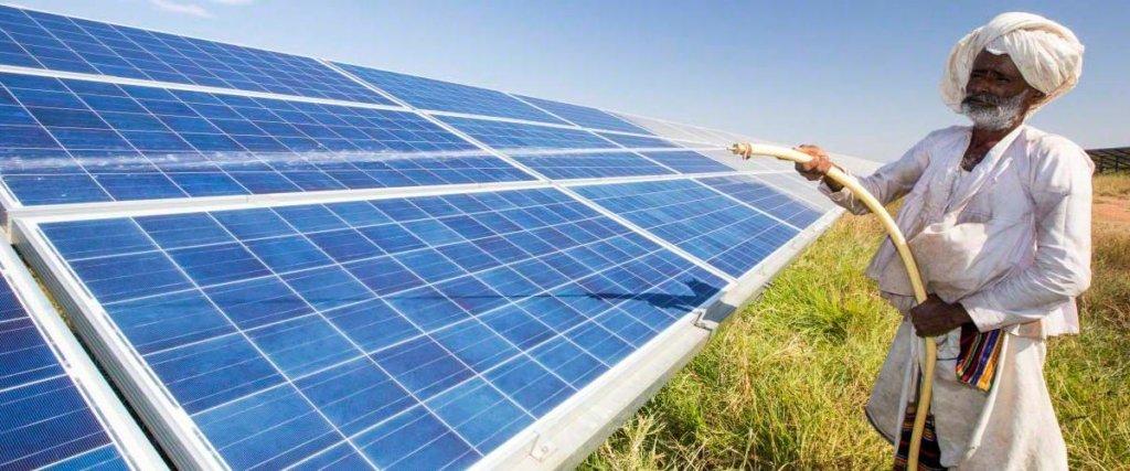 pannelli solari in India