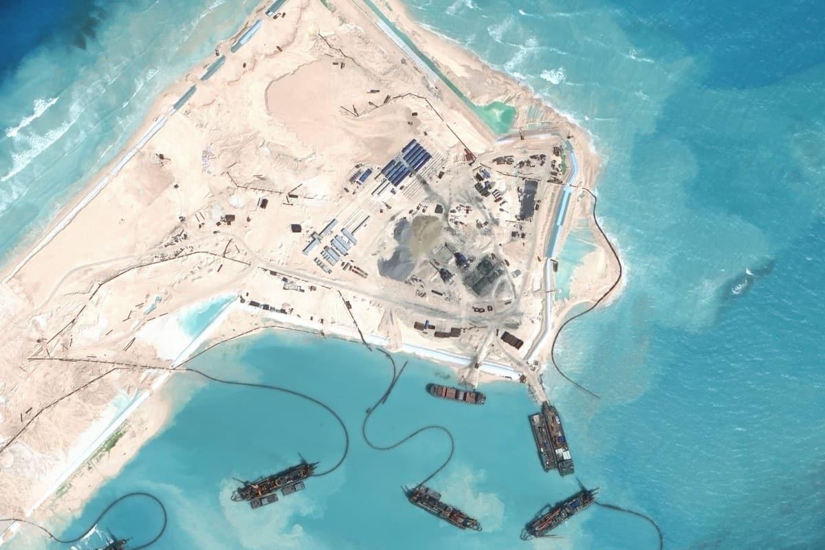 Le isole artificiali cinesi Cosa sono e perché sono state realizzate isole artificiali nel Mar Cinese?