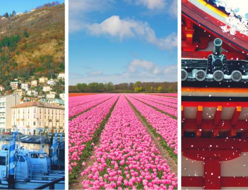 Partire a aprile: dove andare in Italia, Europa e nel mondo Vacanza ad aprile a Como o in Olanda o ancora in Giappone