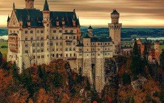 Germania Castello di Neuschwanstein