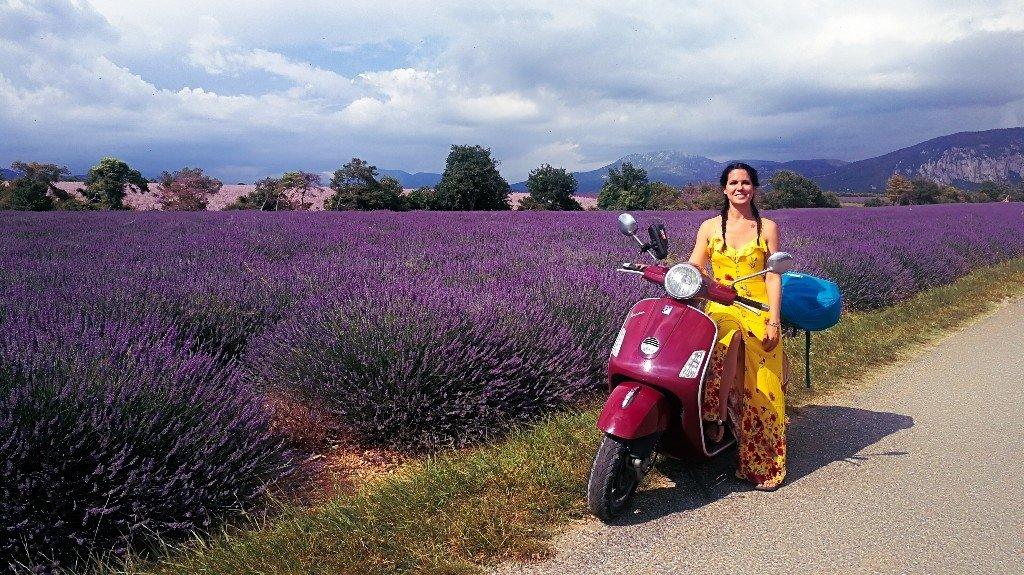 viaggio in vespa in Francia