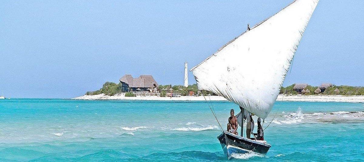 Bazaruto in barca