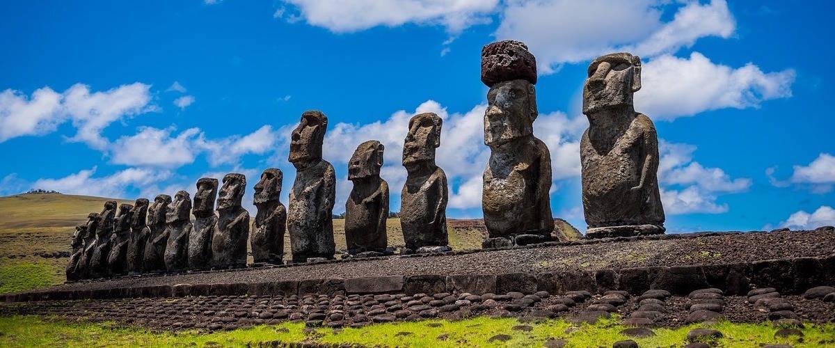Isola di Pasqua statue Moai